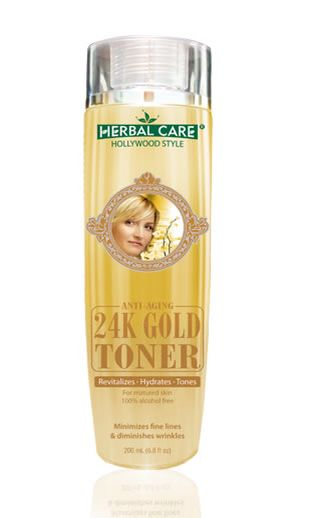 Herbal Care Hollywood Style 24k Gold Toner