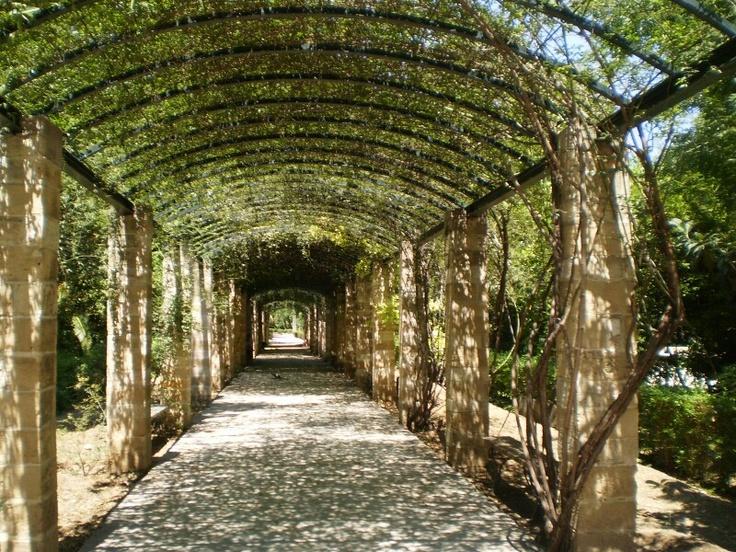 Garden Stone Pillar Walkway Favorite Places Amp Spaces