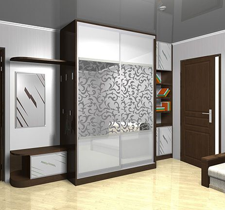 Image result for glass wardrobe door designs for bedroom for Contemporary wardrobe designs india