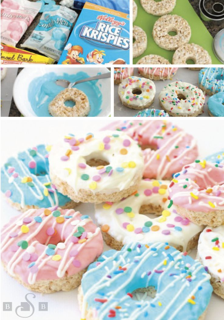 These Donut Rice Krispies Treats® are one adorable dessert recipe that would be perfect for a themed birthday party or a sleepover. Use Rice Krispies® cereal, marshmallows, and vanilla to create the base of this fun treat. Then, use colorful melted chocolate and sprinkles to decorate. You could even set up a DIY dessert bar to share these sweets with party guests.