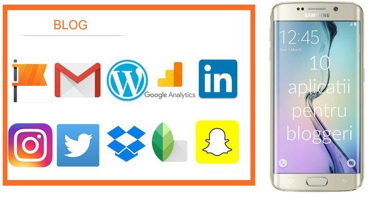 10 aplicatii pentru bloggeri