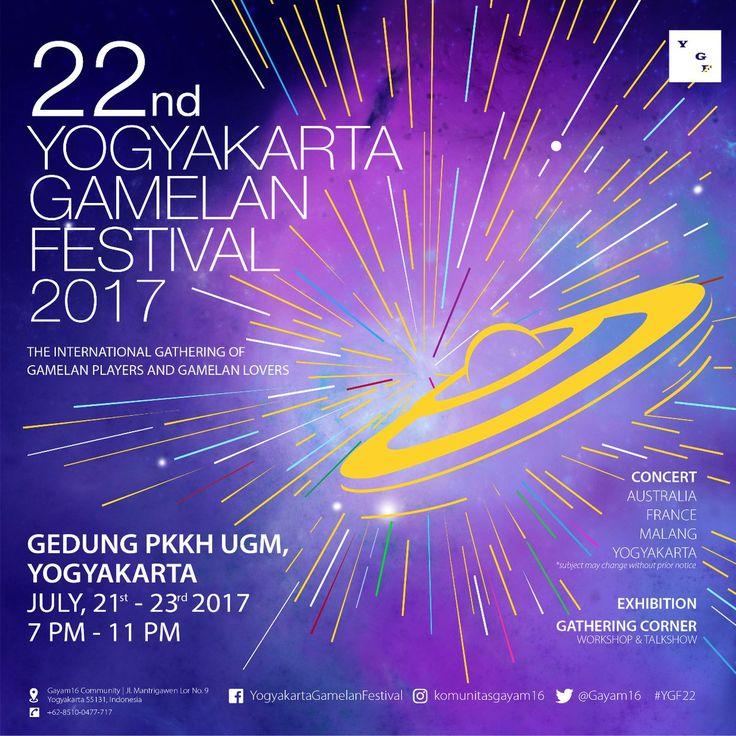 22nd Yogyakarta Gamelan Festival (YGF) 2017