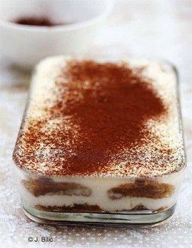 Tiramisu - Le Classique : recette de cuisine proposée par ELLE à Table - Recettes Elle à Table