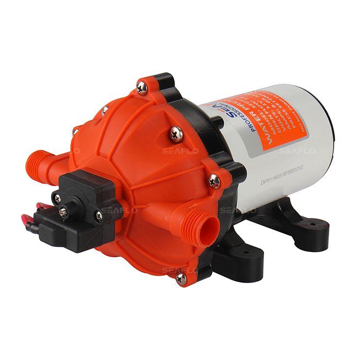 SEAFLO 12 V Motor de CORRIENTE CONTINUA de Alta Presión $ NUMBER PSI 5.5 GPM Bomba de Diafragma de la Bomba de Agua de Piezas para La Venta Marine RV
