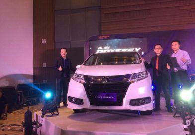 All New Honda Odyssey di Banderol Rp 739.500.000 on the road makassar