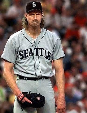Randy Johnson/Seattle Mariners  Still can't believe I met Randy Johnson