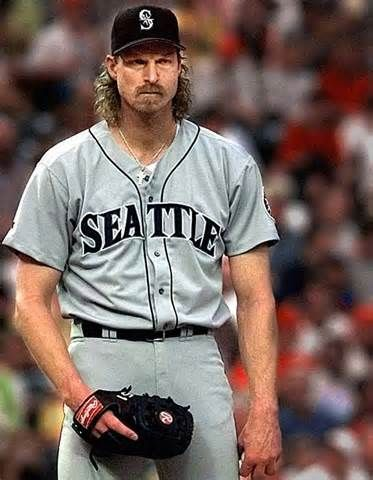 Randy Johnson/Seattle Mariners  Still can't believe I met Randy Johnson