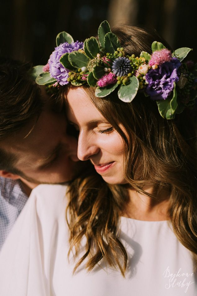 INNA Studio_  floral crowns / wianek na sesje / kolorowy / fot. Bajkowe Śluby