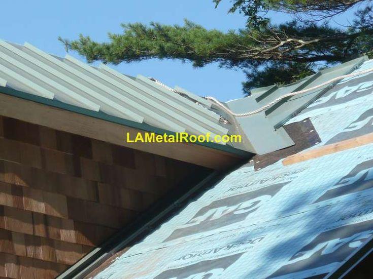 Standing Seam Metal Roof Valley Flashing Installation