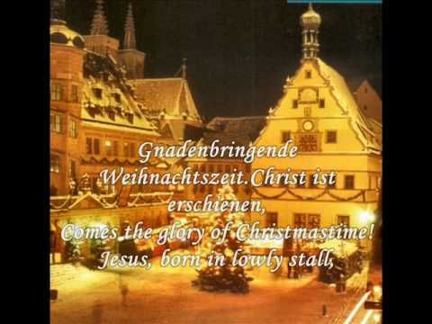 ▶ Christmas songs from Germany - O how joyfully (O du fröhliche) - YouTube.  The traditional Christmas music I grew up with.