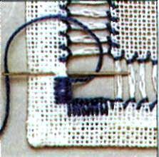 Вышивание - мережка: отделка углов фото