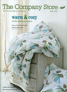 the company store upscale bedding and linens catalog - Bedding Catalogs