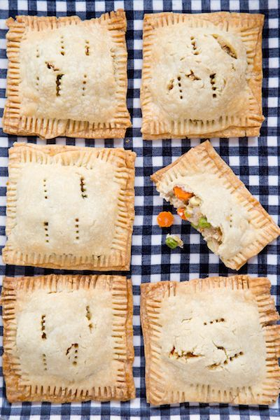 What's more fun than a chicken pot pie? One that you don't have to share with anyone else! These chicken pot pie pop tarts are single serving perfection.