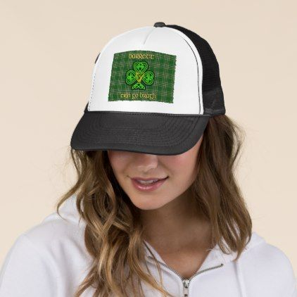 Barrett Irish Hat with Celtic Knot - st patricks day gifts Saint Patrick's Day Saint Patrick Ireland irish holiday party