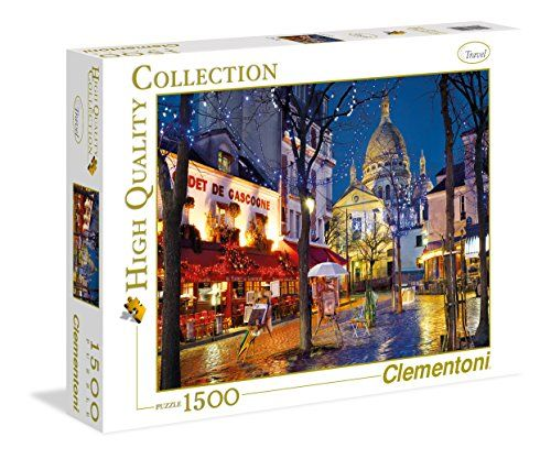 Clementoni Series Paris Montemarte Jigsaw Puzzle 1500 Piece Puzzles Are Some Of The Most Fascinating Images Quality Printing
