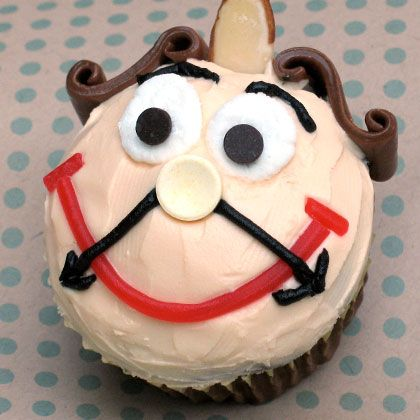 Cogsworth Cupcakes | Top 30 Disney Cupcake Recipes | Food | Disney Family.com