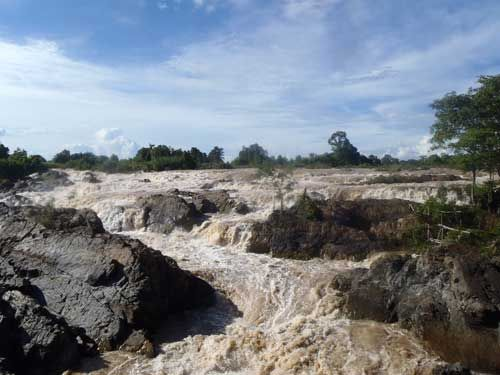 Khong Phopheng, the biggest falls in South east Asia.