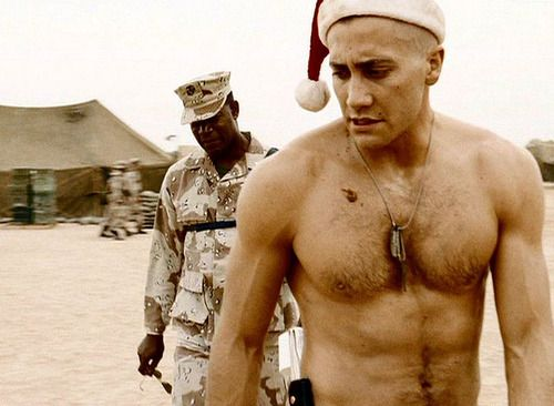 Jake Gyllenhaal...Merry Christmas much??
