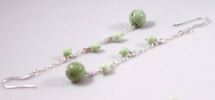 Handmade with semiprecious stones and sterling silver findings.      FREE shipping within Europe!  $15