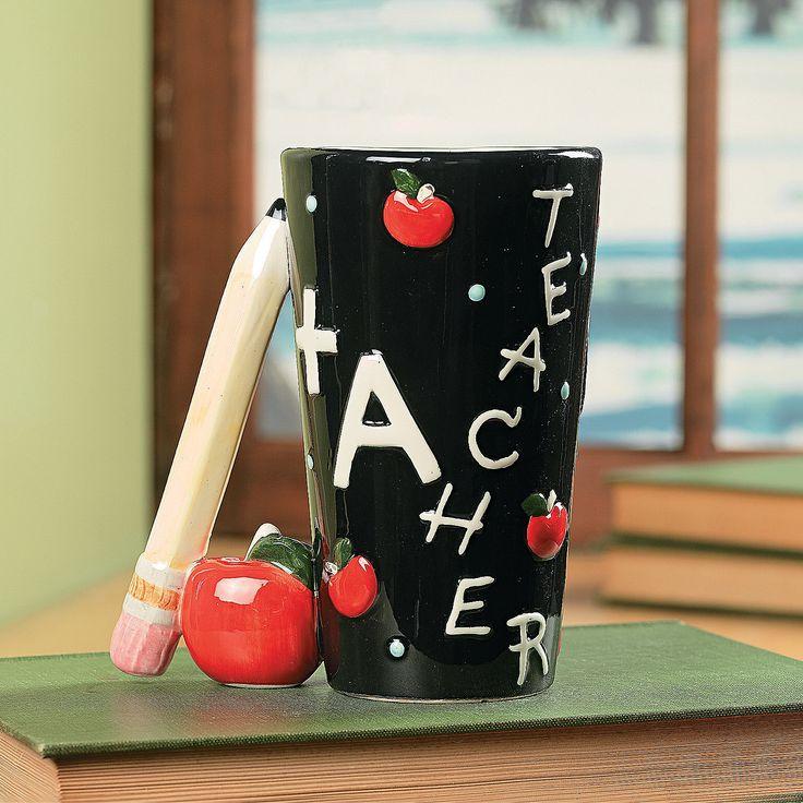 79 best gift ideas for teachers images on pinterest teacher teacher mug with pencil handle preschool giftscoffee negle Gallery