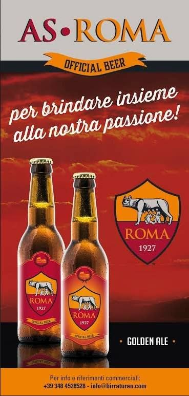 AS ROMA Beer