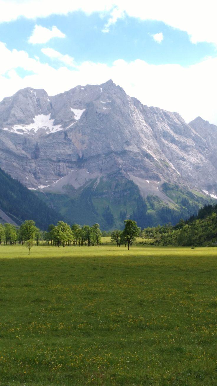 Ahornboden (Maple Tree Ground) Nature Park Karwendel, Tyrol, Austria