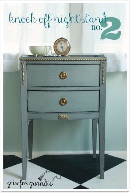 old furniture makeovers. knock off nightstand no 2 reclaimed furnitureold old furniture makeovers
