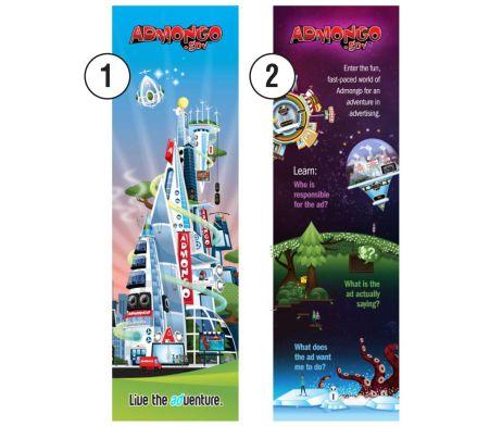 Lenticular Bookmark 3D Effect #brandability #bookmark #promotionalgifts