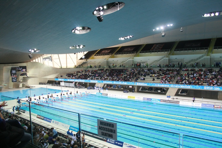 London Aquatic Centre  this summer<3