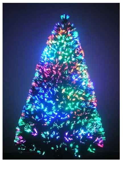 7 ft fiber optic christmas tree it is really pretty get mine tuesday november 15th - Fully Decorated Christmas Trees For Sale