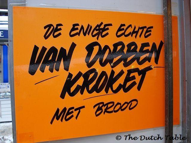 The Dutch Table: Kroketten (Dutch Meat Kroket)