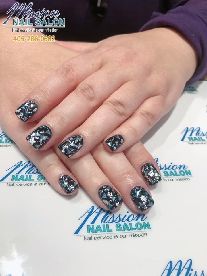 Lighten Up Your Day Through This Beautiful Manicure Mission Nail Salon 3539 W Memorial Rd Oklahoma City Ok 73134 Nail Repair Nails Manicure