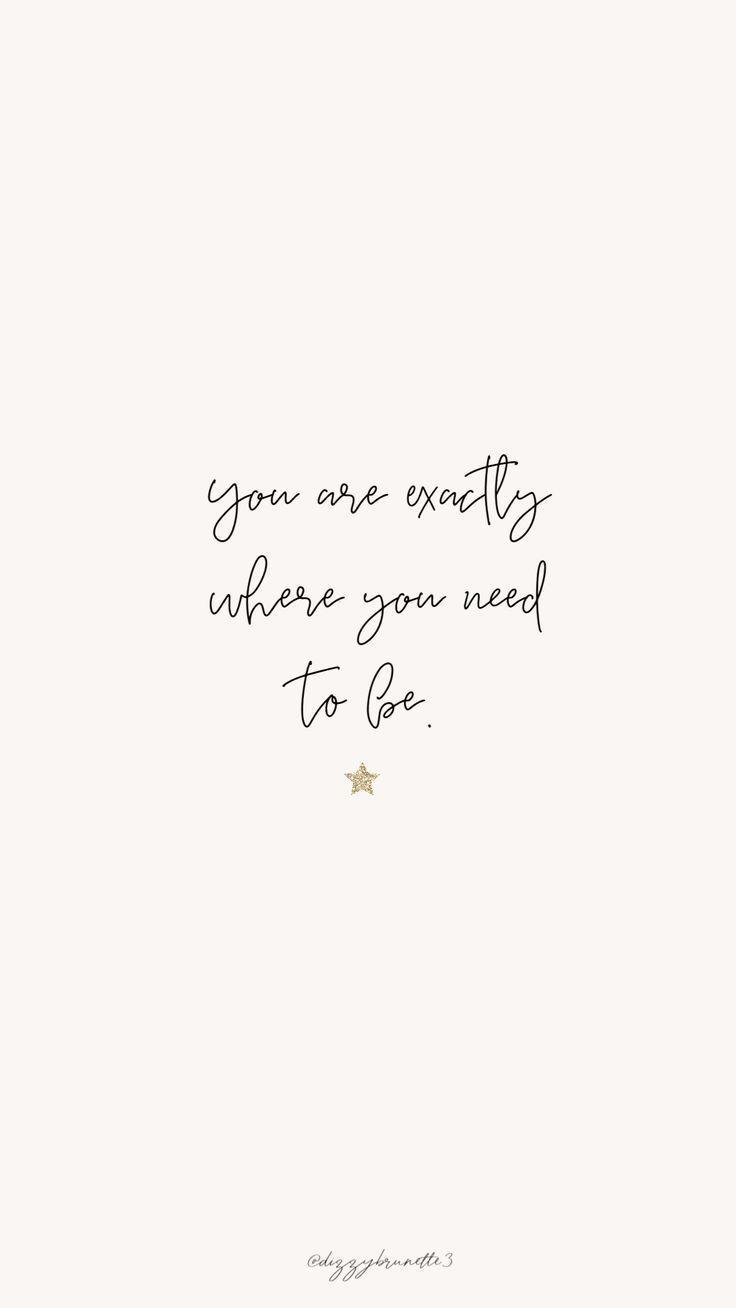 Sie sind genau dort, wo Sie sein müssen