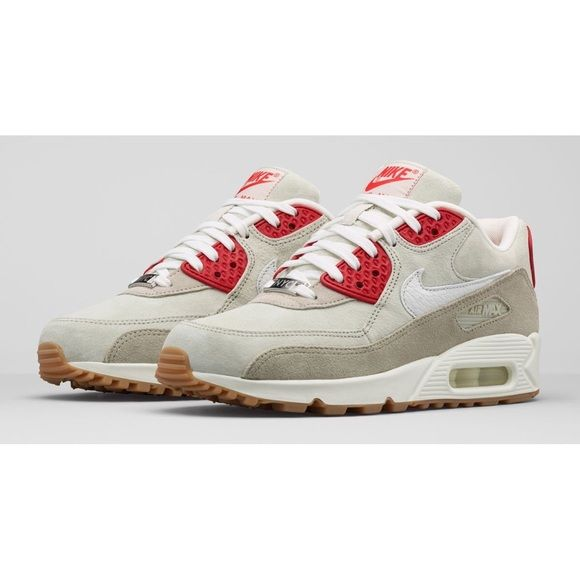 Nike Air Max 90 Limited Edition Women Golden Green White Running Shoes Nike Air Max Nike Air Max 90 Nike