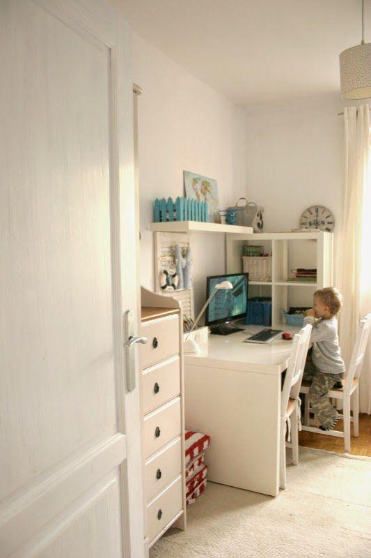 My little white Home: Pokój chłopaków - idą zmiany