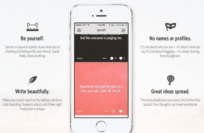 #Secret la app gratuita que se ha convertido en la aplicación más descargada y viral del 2014. ¿ Dónde puedo descargar la app secret en Español ? Descargar gratis la app secret en español para iphone  Descargar gratis la app secret en español para android