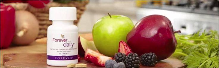 Ta 2 st Forever Daily tabletter om dagen så täcker du dagsbehovet av inte mindre än 12 vitaminer och 8 mineraler.