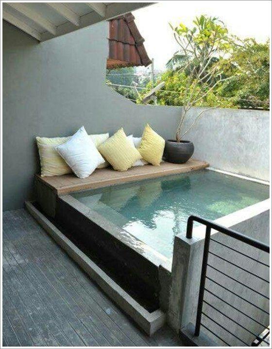 25 melhores ideias de coberturas para piscinas no for Minipiscinas para terrazas