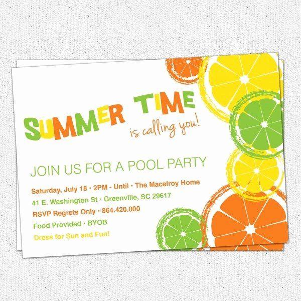 Byob Party Invitation Wording Best Of Byob Invitation Wording In 2020 Party Invite Template Pool Party Invitations Summer Party Invitations