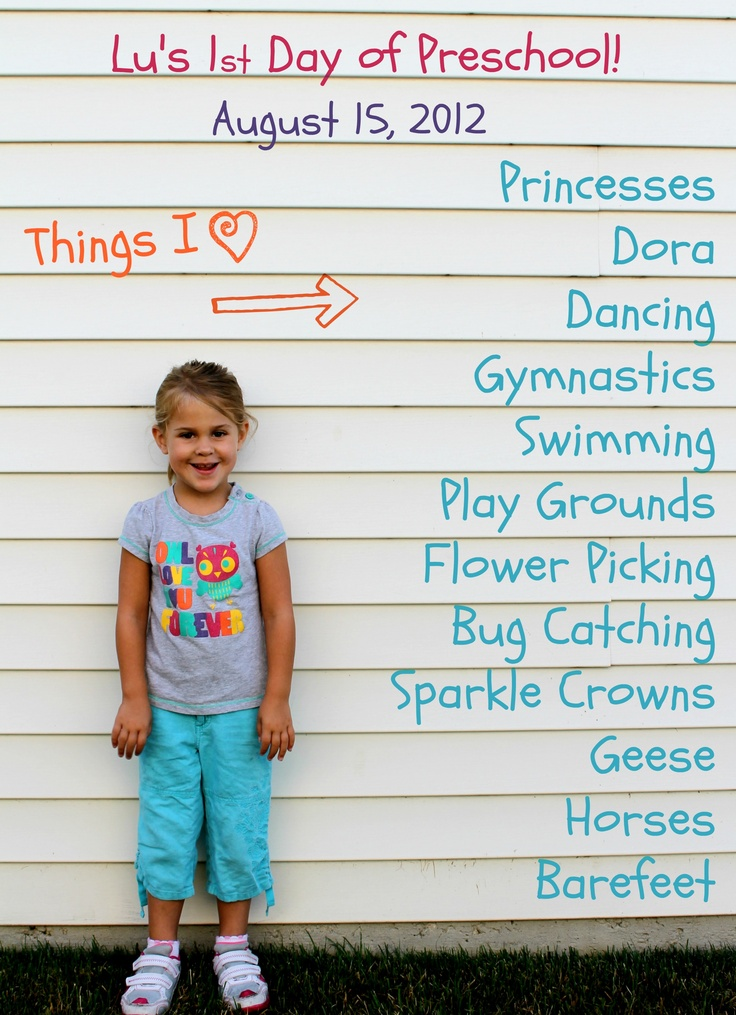 First day of school photo ideas... idea of vinyl/wooden siding to later add text intrigues me.....