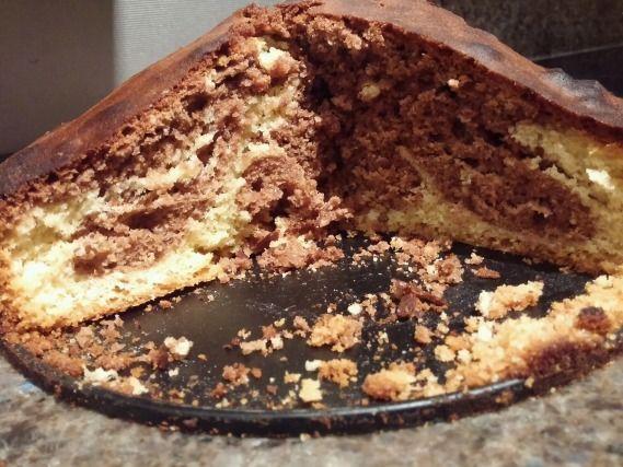 """750g vous propose la recette """"Marbré au chocolat facile"""" publiée par tesang."""