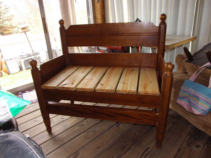 Crib Bench Entryway