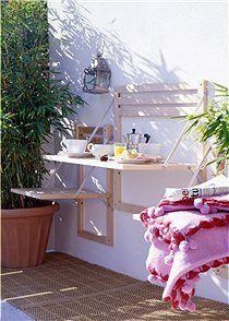 kleiner & klappbarer Gartentisch