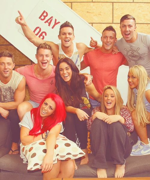 GEORDIE SHORE ... I don't really like this show,but I can't look away when I see it being on Tv.Idk. :'D