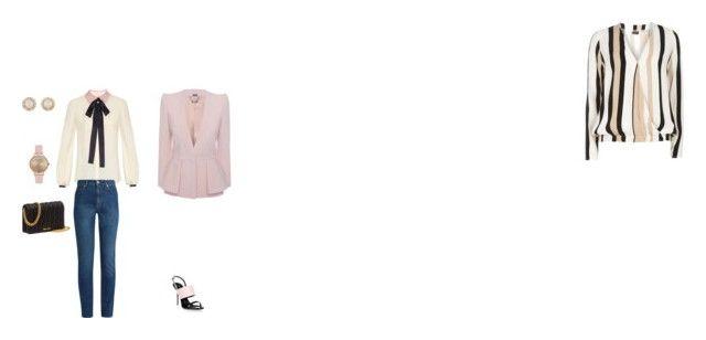 """Office outfit"" by georgi-medrea on Polyvore featuring Dorothy Perkins, Roksanda, Alexander McQueen, Giuseppe Zanotti, Miu Miu, Kate Spade and Topshop"