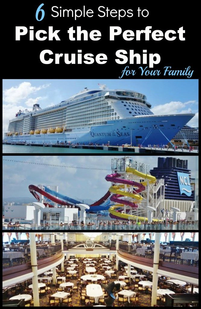 Are you considering taking a cruise for your next family vacation? Don't miss these 6 Simple Steps to Pick the Perfect Cruise Ship for Your Next Family Vacation.