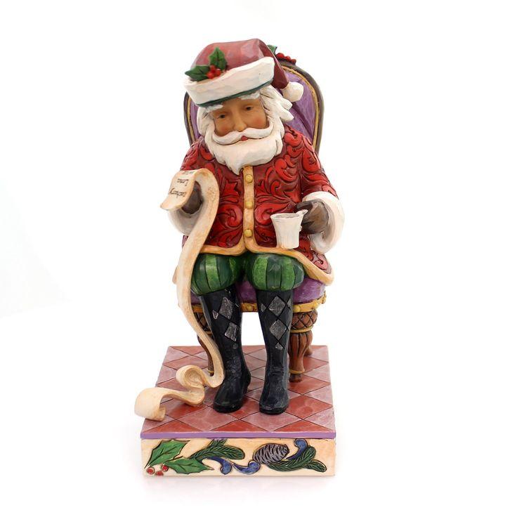 Jim Shore Christmas Wishes Granted Christmas Figurine