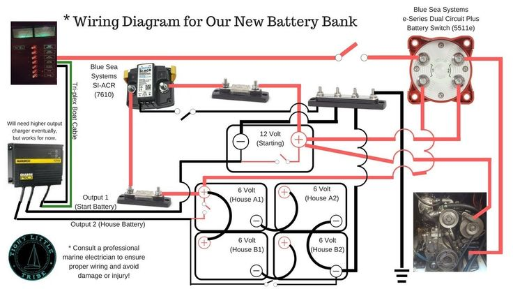 Blue Sea Dual Battery Switch Wiring Diagram Sample In 2020