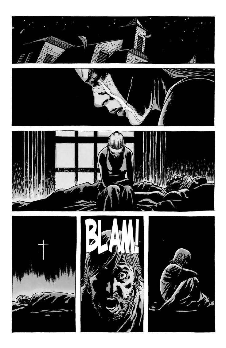 The Walking Dead Andrea Comic Book