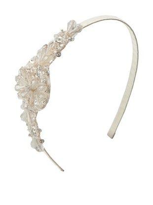 55% OFF Marie Hayden Women's Side Beaded Headband, Ivory, One Size